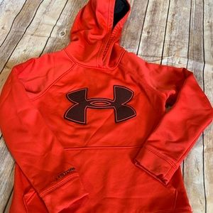 Barely worn boys under armour hoodie